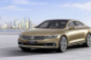 Next-Gen Volkswagen Phaeton's Design Previewed By C Coupe GTE Concept